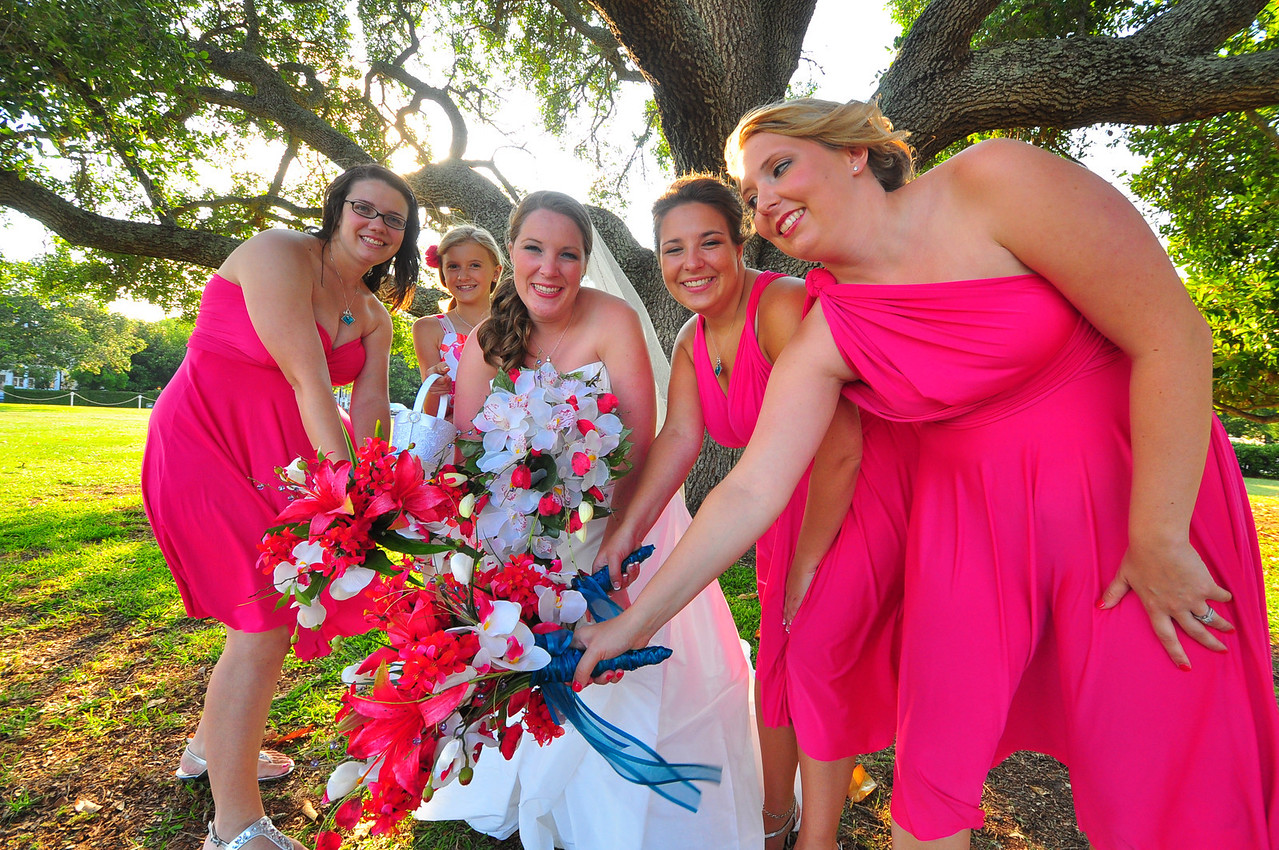 Bryce Lafoon Photography captures a beautiful wedding at the Southport Community Center in Southport, North Carolina.