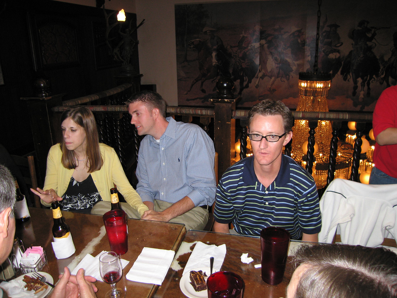Tessa, Thomas and Danny Spence