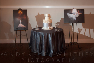 AK+W - Cake, Bouquet & Garter-1