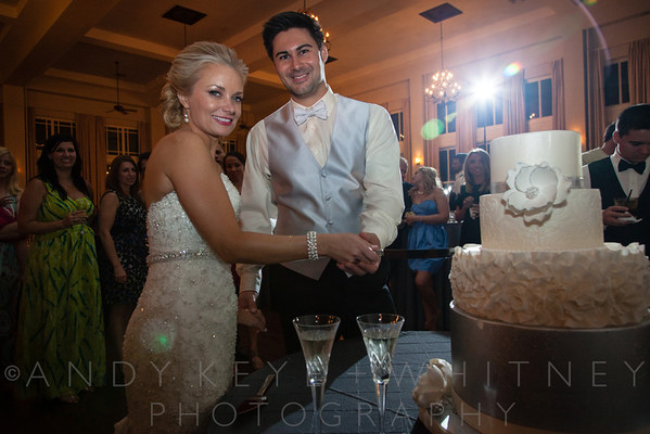 Cake Cutting, Bouquet & Garter Tosses