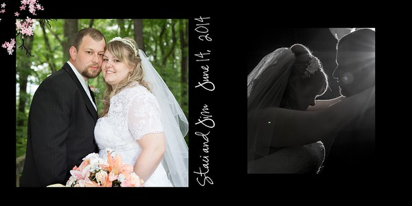 Staci & Jim Wedding Album-3 001 (Cover 1)