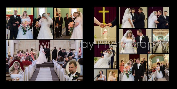Staci & Jim Wedding Album 7-6 009 (Sides 15-16)