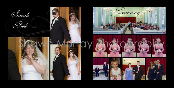 Staci & Jim Wedding Album 7-6 008 (Sides 13-14)