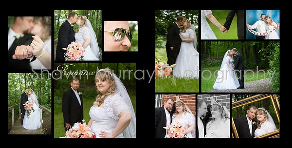 Staci & Jim Wedding Album- June 8th 017 (Sides 31-32)