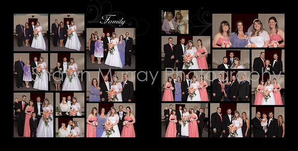 Staci & Jim Wedding Album- June 8th 012 (Sides 21-22)