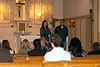 Stacy Plucinski's and Aaron Obispo's wedding rehearsal.