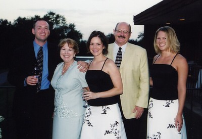 Bridesmaids and family