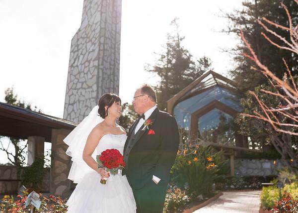 Stan & Annie | Wayfarers Chapel Wedding