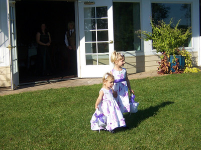 The adorable flower girls!
