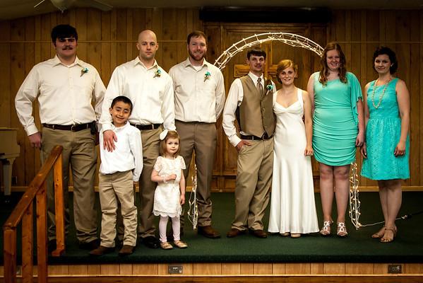 Justin Ashley Wedding Party
