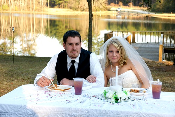 Stefany Morris and William Franklin Wedding Reception