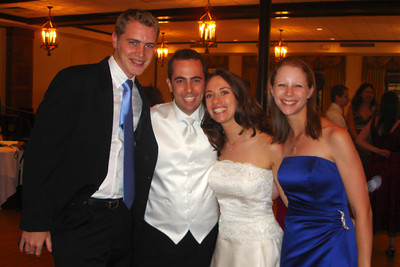 With the wedding couple - Chicago, IL ... July 29, 2007