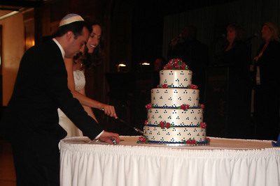 Cutting the cake - Chicago, IL ... July 29, 2007 ... Photo by Rob Page III