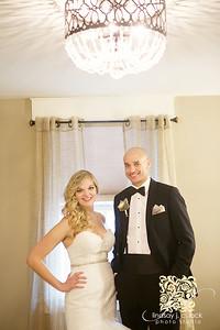 Stephanie Hartzler and Lamont Sharp's wedding at Restoration 1894 in Liberty on January 30, 2016. Photos by Lindsay J. C. Lack