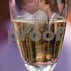 Sam and Stephanie in a wine glass
