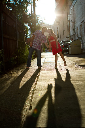 Stephanie & Mike - engagement session - June 16, 2012