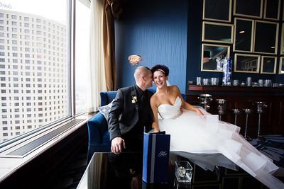 Stephanie & Kyle {wedding day}