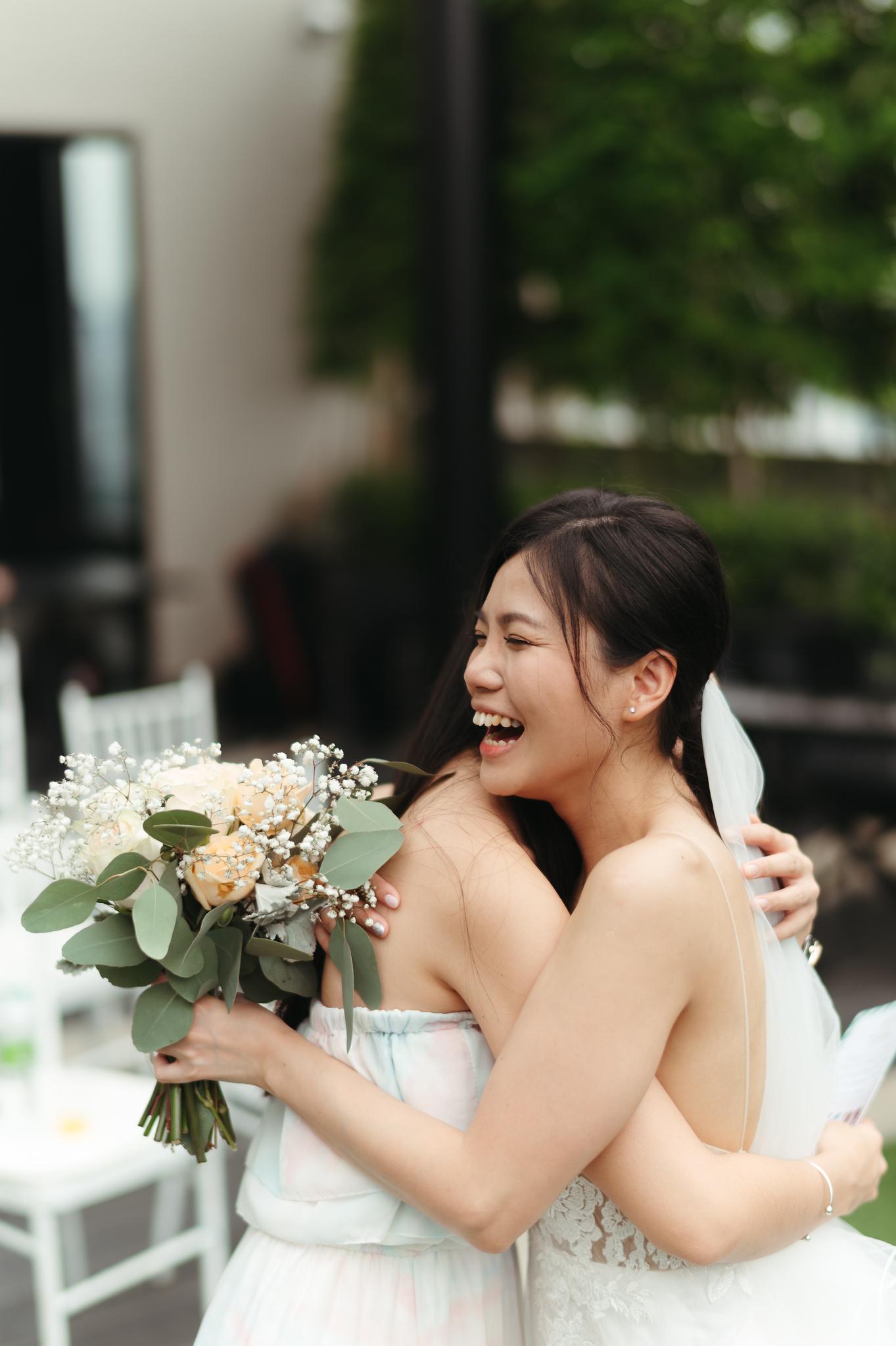 Garden ROM Wedding in The Nest Roft Top