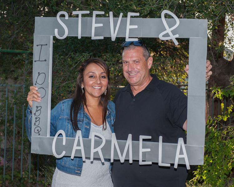 Steve and Carmela Wedding