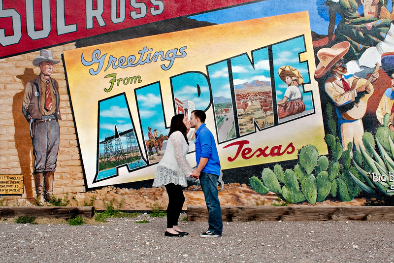West Texas Engagement Session