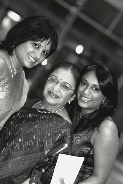 Sudhir and Chrissy Wedding BW