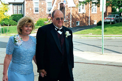 My brother Gene/Nancy parents of the bride