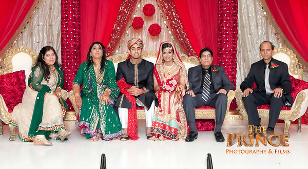 Sumaiya & Shehryar's Wedding Group Photos