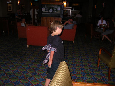 Photographer: Allie Yungclas. Cousin Abuse at the Hotel Bar