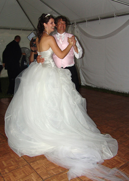 Jessa with Terry and Summer on the Dance Floor