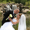 Wedding Portraits at Waterfall