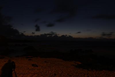 Sunrise over Sandy's