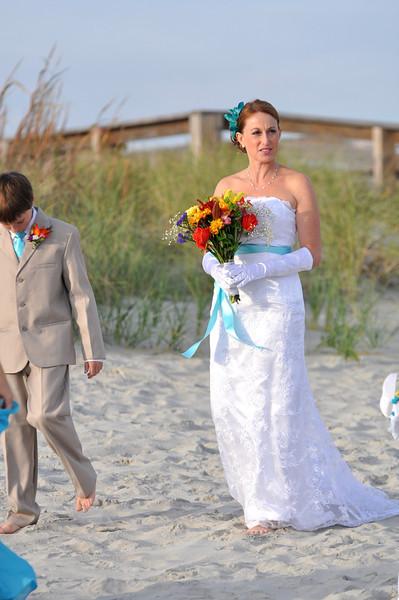 Bryce Lafoon Photography of Holden Beach NC captures a beautiful wedding at Sunset Beach, North Carolina.