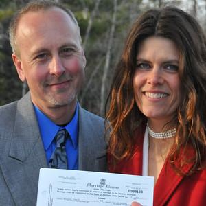 Susan & Craig, April 27, 2009