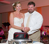 "Cutting the ""Grateful Dead"" groom's cake."