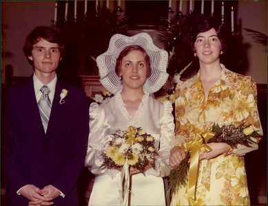 Susan and Bucky's wedding - 05/26/1976