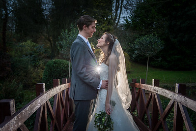 Susie & Neal Winter Wedding at The Mill Barns,  Alveley Shropshire.
