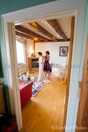 Suzanne & Tyler - Round Barn Farm Inn - Waitsfield, VT
