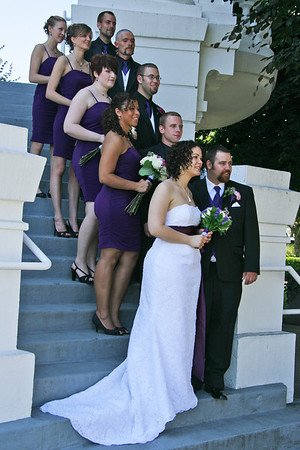 TONYA  & ADAM  GET  MARRIED