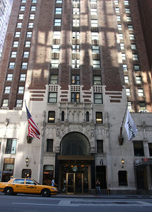 The Radisson Hotel in New York where the getting ready began for a Norfolk Couple getting married in New York