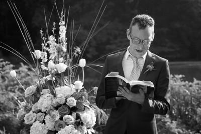 Ceremony - Black and White