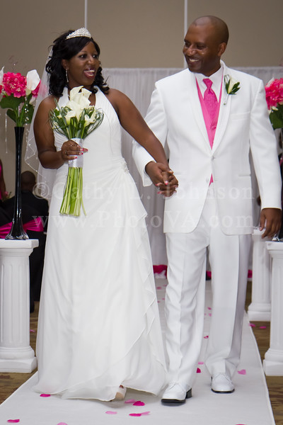 Tamika and Jemison | Chesapeake Wedding Photographers