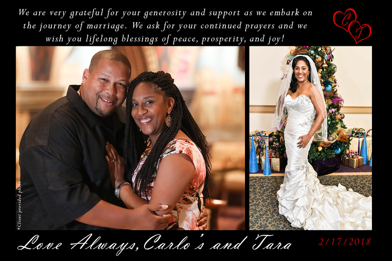 commemorative carlos and tara