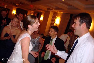 Tasha and Henry enjoy the dance floor at their wedding - Washington, DC ... August 20, 2011 ... Photo by Rob Page III