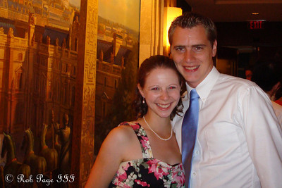 Rob and Emily at Taasha and Henry's wedding - Washington, DC ... August 20, 2011