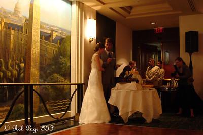 Tasha and Henry cut their wedding cake - Washington, DC ... August 20, 2011 ... Photo by Rob Page III