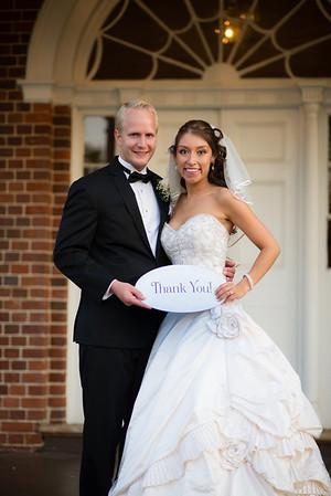 Tatiana and Jeff - Thank You