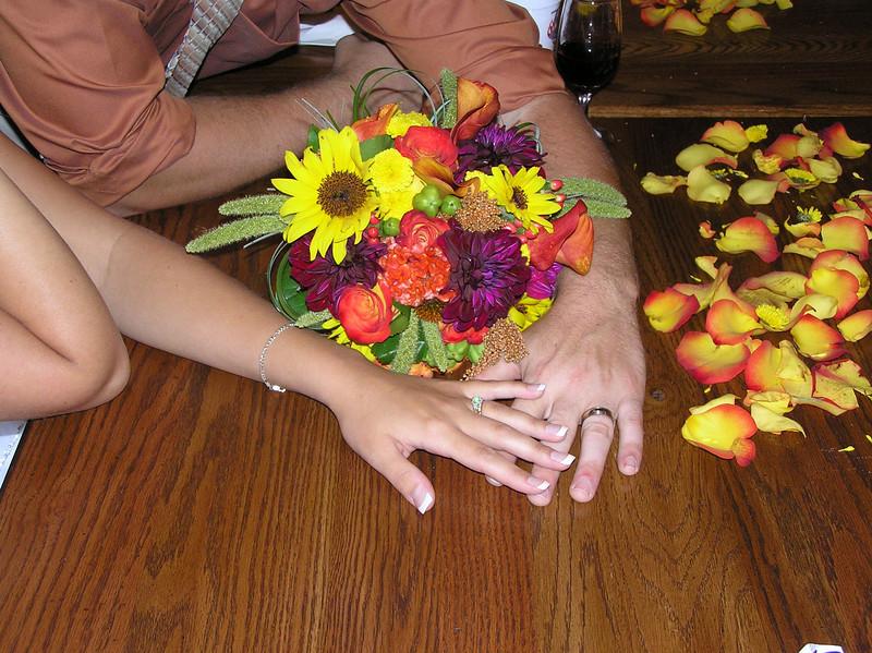 Bouquet & Rings