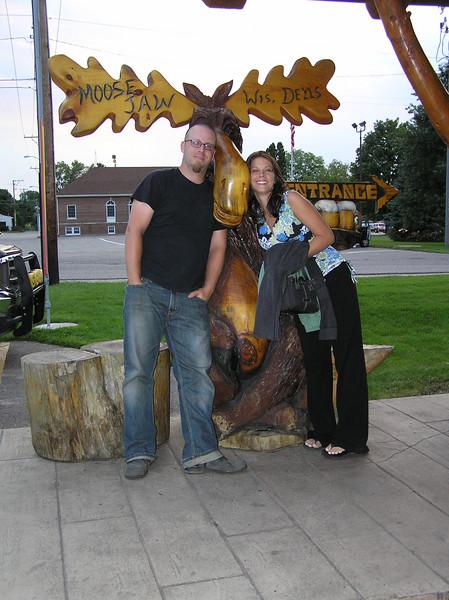 Matt, Shannon & a Moose 01