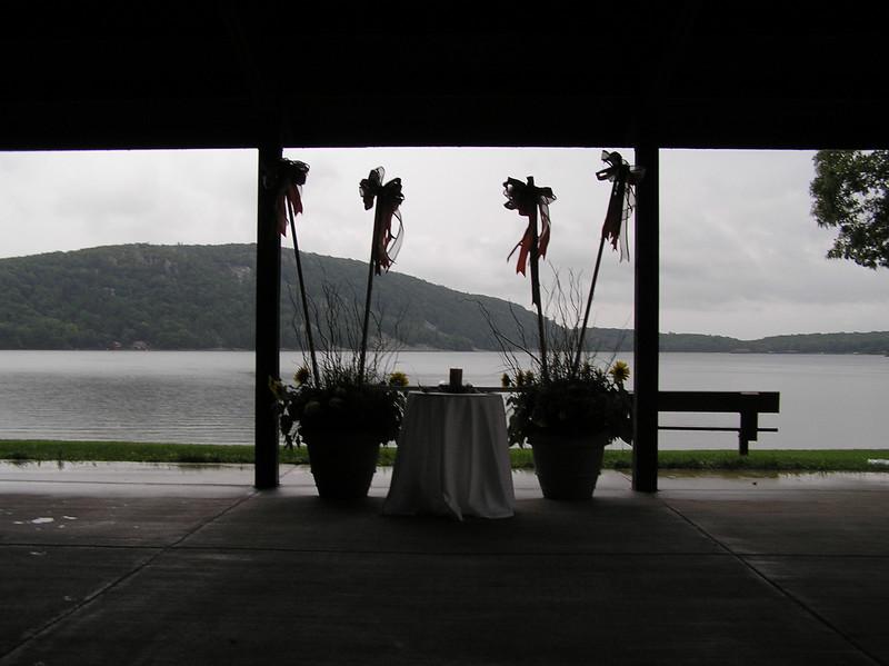 Ceremony Setup Silhouette