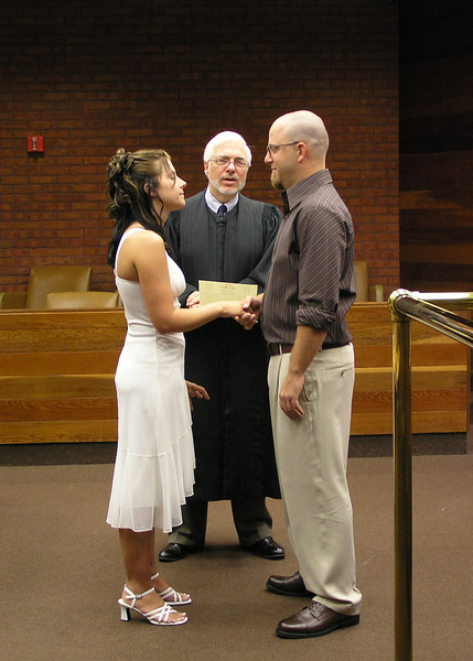 Civil Ceremony - Exchanging Vows